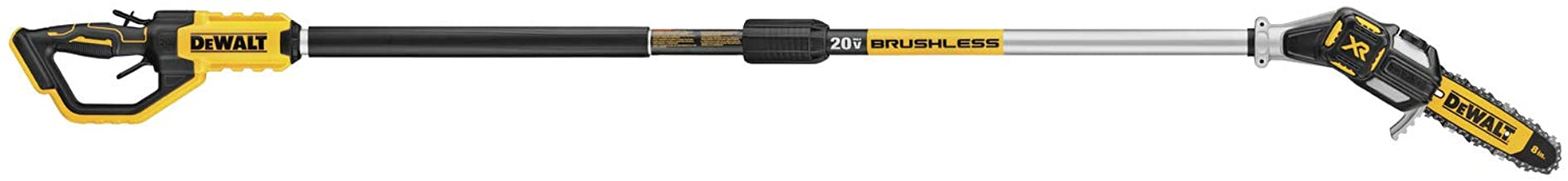 DEWALT 20V MAX XR Pole Saw, 15-Foot Reach, Tool Only (DCPS620B)