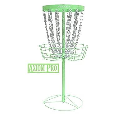 Axiom Discs Pro 24-Chain Disc Golf Basket - Green