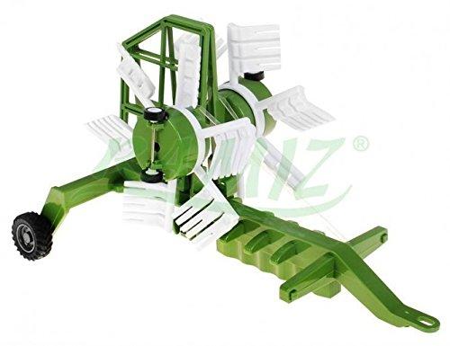 RC Auto kaufen Traktor Bild 3: Traktor mit Anhänger QY8301I im Maßstab 1:28 - Ferngesteuertes Traktor inkl. Fernsteuerung - RC Farm Car - Farm Traktor mit abnehmbarem Anhänger*