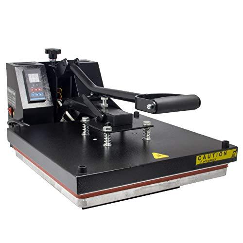 HobbyCut H001-S Transferpresse 38cm x 38cm Textilpresse 1800 Watt - 5