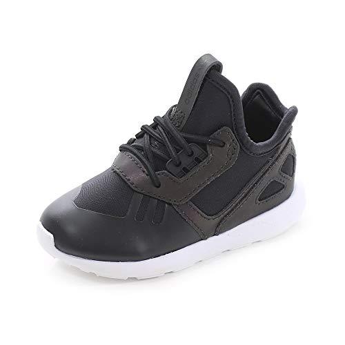 adidas - Zapatillas de Deporte de Material Sintético Bebé-Niñas, Negro (Negro), 24
