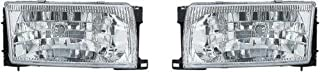 Holiday Rambler Navigator 1997-2001 RV Motorhome Pair (Left & Right) Replacement Front Headlights with Bulbs