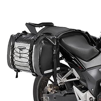 ROCKBROS Motorcycle Saddle Bag Saddlebags Waterproof Side Bag for Honda Yamaha Suzuki Motorcycle Pack Removable Detachable Bag  2 PCS