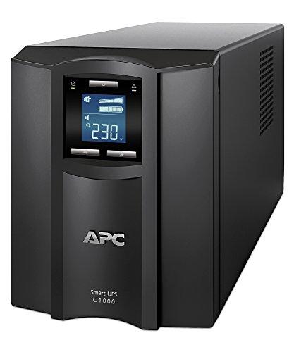APC Smart-UPS SMC - SMC1000I - Unterbrechungsfreie Stromversorgung 1.000VA (Line Interactive, AVR, 8 Ausgänge IEC-C13, Shutdown Software)