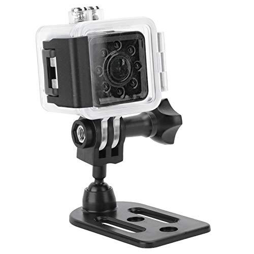 Mini cámara, Caja Impermeable SQ13 Full HD 1080P, grabadora de acción de visión Nocturna con Sensor Cmos, transmisión remota inalámbrica de 20 m, Capacidad de visión Nocturna Mejorada