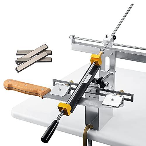GJCrafts Afilador de cuchillos de ángulo fijo (RX-008 Pro-2)
