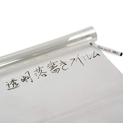 SUNDECK『透明無色フィルムオフィス用シート粘着剤付き』