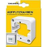 Schellenberg 20006 Aufputz-Rahmen 1-fach für Steuerelemente, 81 x 81 x 31 mm