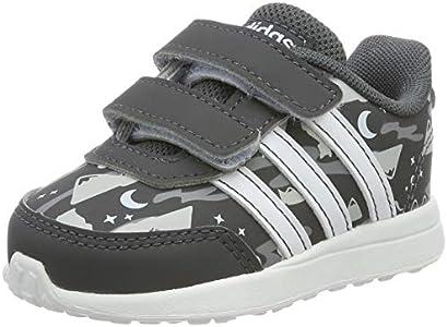 Adidas VS Switch 2 CMF INF, Zapatillas de Estar por casa Unisex niños, Multicolor (Grisei/Ftwbla/Aeroaz 000), 18 EU