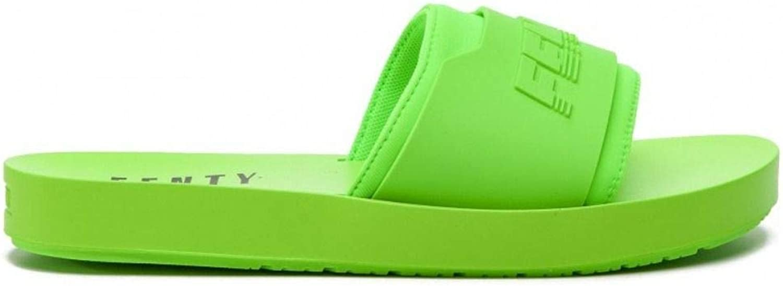 FENTY X PUMA Women's 36774704 Green PVC Sandals