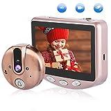 ドアインターホン VBESTLIFE 4.3インチ LEDスクリーン HD 100万画素 120°レンズ 液晶ドアモニター ビデオ 暗視撮影 玄関用 防犯ドアベル