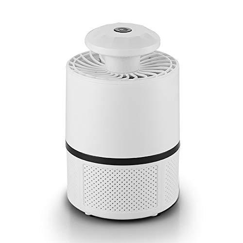 HXCLYQ Moskito-Mörder-Lampen-Insektenfalle, USB-angetriebener Insektenwanzen-Zapper LED-UVlicht-Fliegen-Inhalator-Fänger, Ungiftig Und Kein Strahlen-Moskito-Abwehrmittel Mit Saugventilator Sicherheit