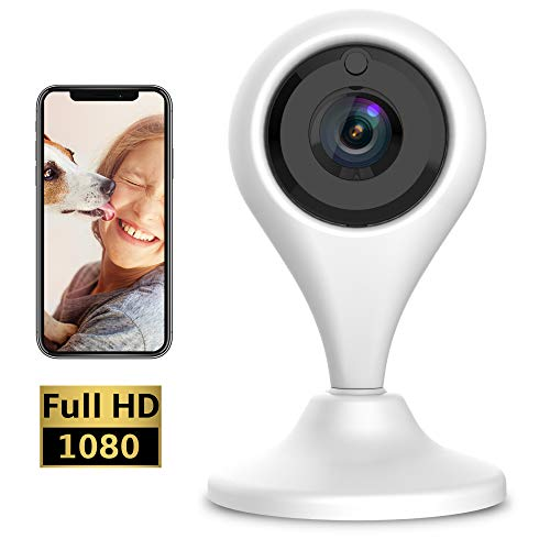 Keyke Telecamera di Sicurezza Wifi Camera Ip FULL HD...