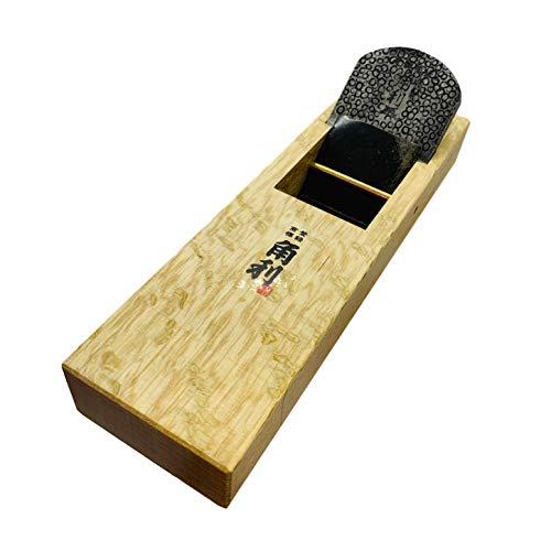 KAKURI Japanische Blockhobel für Holzbearbeitung, 60 mm, manueller Kanna-Holzhobel für die Verarbeitung von Holzoberflächen, 7,3 x 25,9 cm (41938)