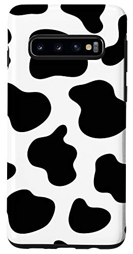 Galaxy S10 Cow Print Pattern Phone Case