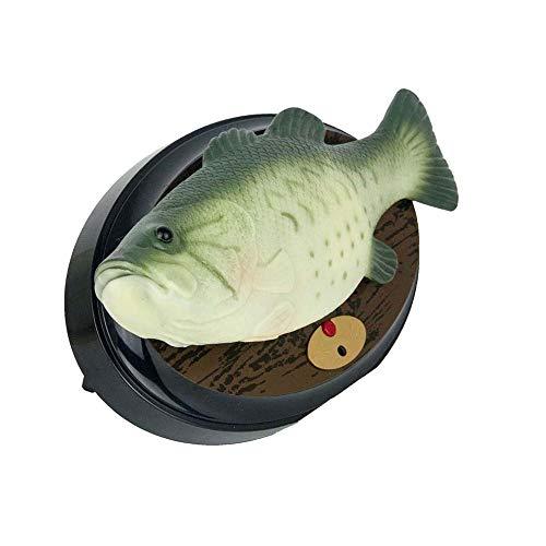 Winning Big Mouth Billy Bass the Singing Sensation, divertida caja de música de peces, juguetes de música eléctrica para niños, peces de simulación de plástico con canto y paliza