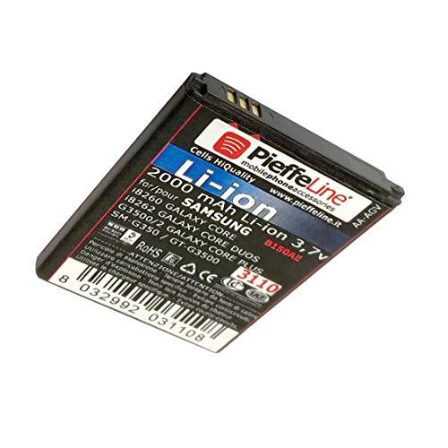 Batería para Samsung i8260 i8260 Galaxy Core y Core Duos - G3500 G3502 Galaxy Core Plus Li-Ion de 2000 mAh Tipo B150ae