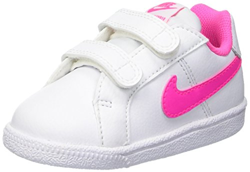 Nike Unisex Kinder 833656 106 Schuhe für Neugeborene, Weiß Rosa, 27 EU