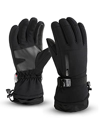 Frlozs Ski & Snow Gloves Waterproof Insulated...