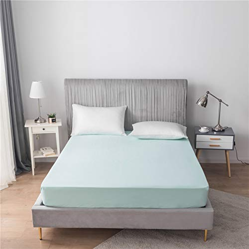 haiba Bedding 100% Cotton Extra Deep Fitted Sheets in 7 Colours (King)