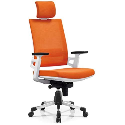 Chaises De Jeu, Fauteuils De Bureau, Tables Et Chaises Rotatives, Chaises Longues Ergonomiques (Couleur : Orange)