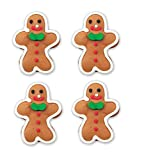 Oasis Supply Edible Fun Shapes | Edible Royal Icing Hand Painted Christmas Icing Faces | Decorate...
