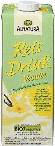 Alnatura Bio Reis Drink Vanille, 8er Pack (8 x 1 l)