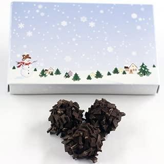 Scott's Cakes Chocolate Bourbon Balls in a 8 oz. Winter Wonderland Box