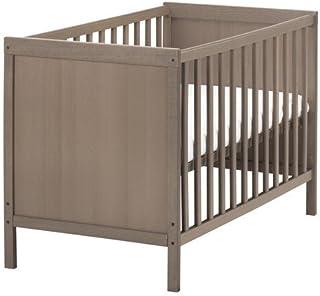 Ikea SUNDVIK Babybett in Graubraun 60x120cm