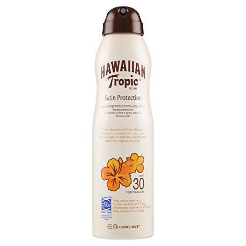 Hawaiian Tropic Satin Protection Sun Lotion Sonnencreme Spray LSF 30, 1 St