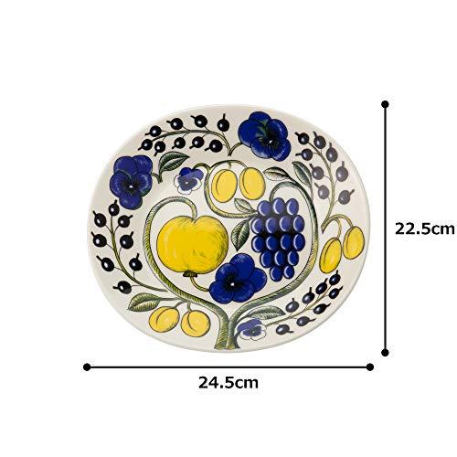 ARABIA(アラビア)Paratiisi(パラティッシ)『プレートオーバル25cmカラー(1005603)』