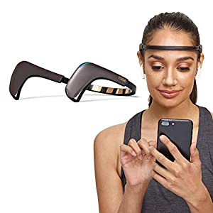 MUSE 2: The Brain Sensing Headband - Meditation Tracker Multi Sensor Headset Device - Responsive Sound Feedback for Brain Wave, Heart, Body & Breath Activity from Interaxon