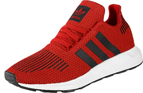 adidas SWIFT RUN J Zapatillas de Gimnasia Unisex Niños, Rojo (Scarlet/Core Black/Ftwr White Scarlet/Core Black/Ftwr White), 38 EU (5 UK)