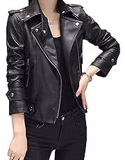 ライダースジャケット ダブル フェイクレザー ブラック 黒 ブルゾン アウター レディース ジャケット バイカージャケット 革ジャン PUレザー