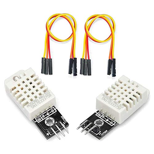 LilyJudy Modulo Sensore di Umidità Della Temperatura DHT22 da 2 Pezzi per Sensori DHT di Misura Digitale per Pi