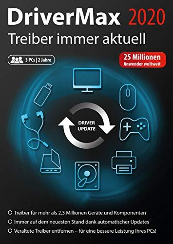 DriverMax 2020 - Treiber immer aktuell halten für Windows 10, 8.1, 8, 7 3 PCs - 2 Jahre Laufzeit