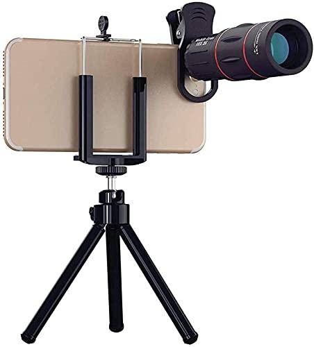 Lente de zoom do telescópio 18X lente de câmera monocular do telefone para smartphones para esportes de acampamento 18X