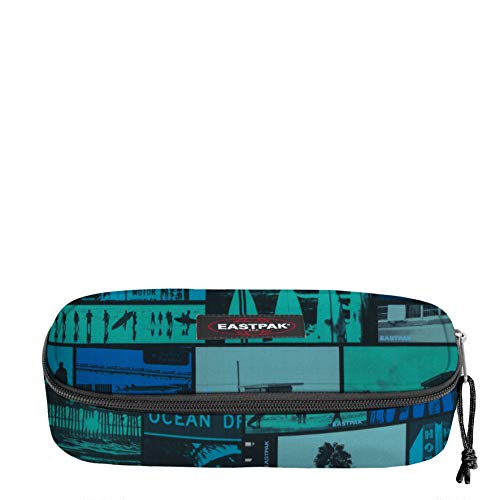 Eastpak Oval Single Astuccio, 22 cm, EK717 (A59 city pix blue)