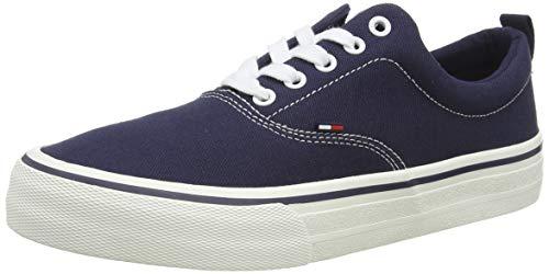 Tommy Hilfiger Classic Tommy Jeans Sneaker, Zapatillas para Hombre, Gris (Ink 006), 44 EU