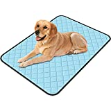 Dog Cooling Mats, Pets Self-Cooling Washable Pad Summer Cats and Dogs Bed Sleeping