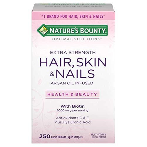 Hair Skin And Nails Nature's Bounty 250 Capsulas