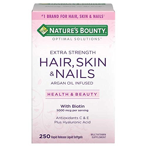 Hair Skin And Nails Nature's Bounty 250 Capsulas