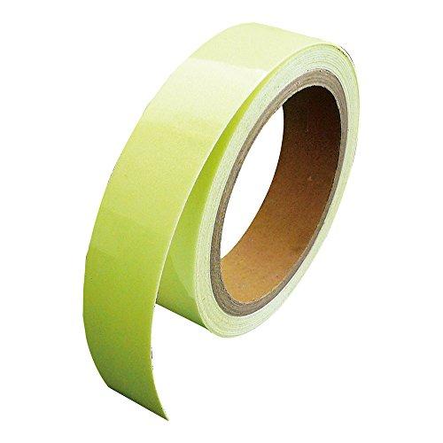 LTI 『防災対策』 高輝度 蓄光テープ SUPER α-FLASH(25mm幅×5m) SAF2505