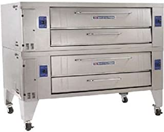 Bakers Pride SuperDeck Y Series Double Deck Gas Oven, 78 x 43 x 66 inch -- 1 each.