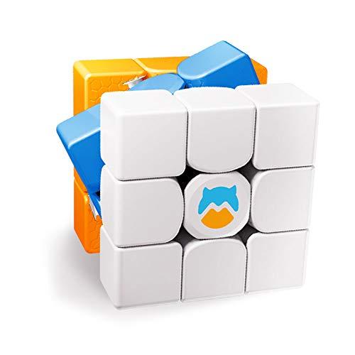 Monster Go 3x3 Arco Iris, Rainbow Cubo de Entrenamiento, Juguetes para Niños Principiantes