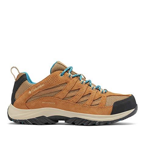 Columbia Women's Crestwood Waterproof Boot Hiking Shoe, Sahara/Siberia, 9.5