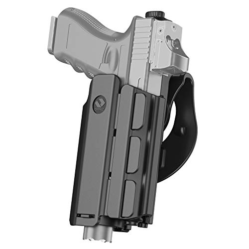 Orpaz Light Bearing Holster for Sig P320, P226, P229, SP2022 and SP2340 Compatible with Streamlight TLR-2 and SureFire X400, with Paddle Attachment