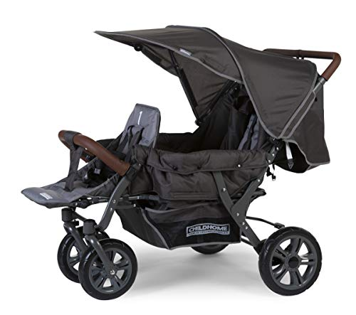 Childwheels Poussette CWTRIP voiture de sport, anthracite NEW 2020