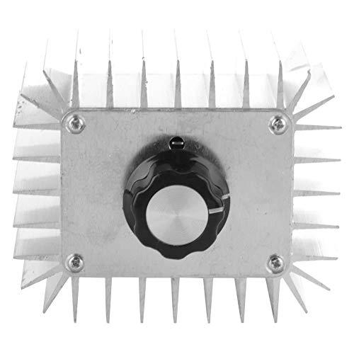 AC 220V 5000W Regulador de Voltaje de Alta Potencia Controlador de Velocidad del Motor Ajustable Módulo de Termorregulación de Atenuación de Atenuación Electrónica