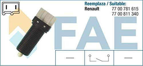 SPECTROMATIC 24480 Interruptor de luz de parada RENAULT Laguna Megane Safrane 7700781615